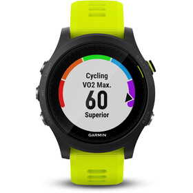 Garmin Forerunner 935 GPS Triathlonuhr Bundle black/yellow